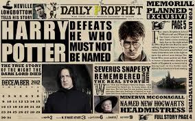 Harry Potter Newspaper Template Harry Potter Harry Potter Photo 29510247 Fanpop
