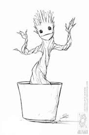 Small Picture Enjoy coloring this free printable Groot and Rocket Raccoon