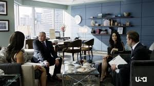 suits office. Suits 2x15: Normandy Office