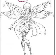 Winx Aisha Bloomix Da Colorare Cartoni Animati