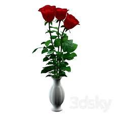 3d models bouquet flowers roses
