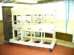 full size of plywood storage rack free plans wood clamp rolling vertical lumber idea nice house