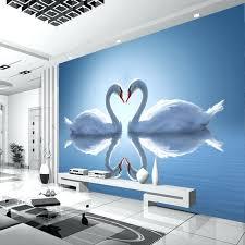 romantic bedroom art romantic photo wallpaper swan lake wallpaper custom wall mural natural scenery kids bedroom art room romantic bedroom wall decor ideas