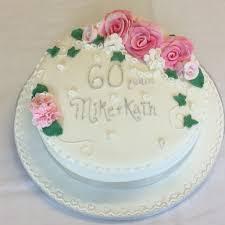Diamond 60th Wedding Anniversary Cake The Cake Box