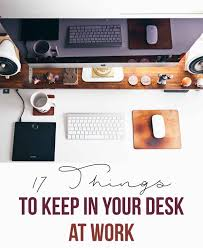 cool things for your office. 17 Things To Keep In Your Desk At Work Cool For Office