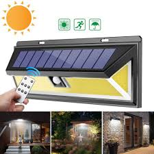 Security Lights Kenya Solar Power 180 Cob Led Pir Motion Sensor Wall Light Outdoor Garden Yard Lamp Waterproof