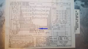 thermostat finding c wire on old heat pump hvac unit home wire diagram wires