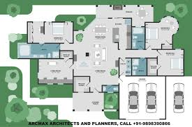 Image Farmhouse 4bhk Luxury Villa Design Floor Plans Type1 Unit Custom Design Layout Floor Plans Anywhere Architectural Designs 4bhk Luxury Villa Design Floor Plans Type1 Arcmax Architects