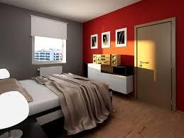 Bedroom : Impressive Red Bedroom Decor With Dark Walls .