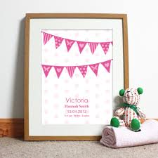 bespoke gift ideas personalised poster design for s
