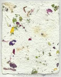 Flower Pressed Paper Handmade Paper Paper Flowers Diy Paper Seed Paper