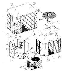 Central air conditioner parts diagram coleman evcon air conditioner rh diagramchartwiki hvac condenser parts diagram