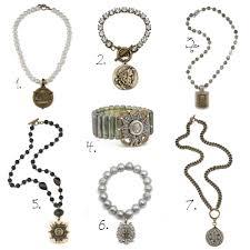 1 necklace 2 bracelet 3 necklace 4
