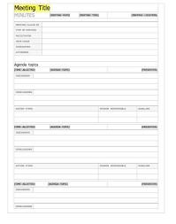 Meeting Minutes Template Microsoft Word 20 Handy Meeting Minutes Meeting Notes Templates