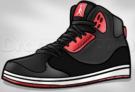 jordans shoes drawings. how to draw jordans shoes drawings a