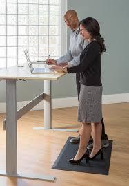 imprint uluspro commercial grade standing desk anti fatigue mat 24 in x 36 in