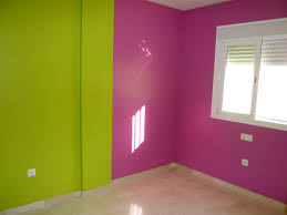 green wall paintInterior Best Fun Color Themes For Kids Rooms Child Room Wall