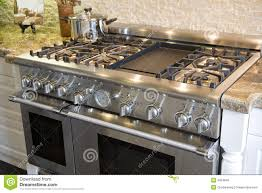 Upscale Kitchen Appliances Luxury Kitchen Stove Royalty Free Stock Photo Image 4924845
