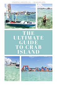 Choctawhatchee Bay Tide Chart Ultimate Guide To Crab Island Visit Crab Island Destin Fl