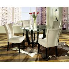 best 25 glass dining table set ideas only on glass awesome glass round dining table and chairs