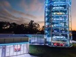 Carvana Vending Machine Locations Interesting Have Coin Will Travel Carvana Opens Car Vending Machine In Houston