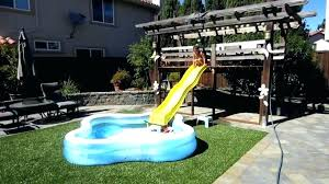 slide inflatable above ground pool18 slide