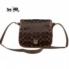 Quick View · Coach Crossbody Bags Classic Rambler Legacy In Signature Medium  Coffee Outlet Sale VIP Shop ...