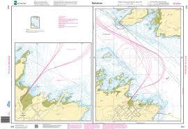 Nhs Nautical Chart Nhs494 Nyhamna