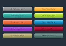Psd Download 10 Free Colour Psd Download Buttons From Brusheezy