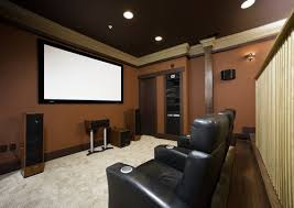 Home Theater Room Paint Color Design, Pictures, Remodel, Decor and Ideas -  page