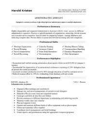 016 Template Ideas Best Resume For Administrative Assistant Page