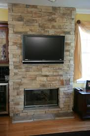 stone fireplaces with tvs north star in tv design 12