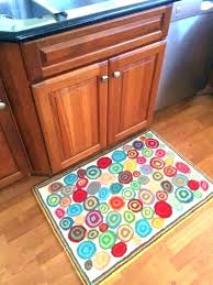 turquoise kitchen rug red