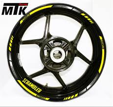mtkracing for ducati scrambler motorcycle wheel decals reflective