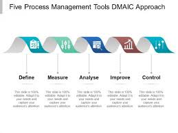 Five Process Management Tools Dmaic Approach Ppt Powerpoint