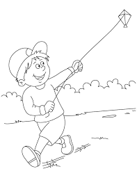 Small Picture Raju flying a kite coloring pages Download Free Raju flying a