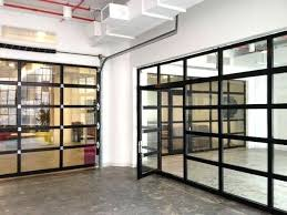 Clear glass garage door Industrial Glass Garage Doors Pricing Contemporary Aluminum Clear Tempered Glass Garage Door With Passage Door Glass Overhead Martin Garage Doors Glass Garage Doors Pricing Contemporary Aluminum Clear Tempered
