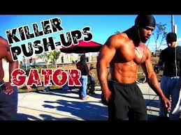 king gator push ups you jpg 480x360 gator workout