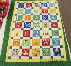 Best 25+ Alphabet quilt ideas on Pinterest   Baby quilt patterns ... & Dr. Seuss Alphabet -. Children's QuiltsPanel QuiltsBaby ... Adamdwight.com
