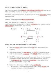 unit 5 chemical equations and reactions