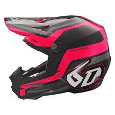 6d Helmets 10 3436 Atr 1 Fuse Medium Pink Black Off Road Helmet
