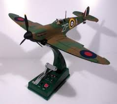 spitfire diecast. supermarine spitfire mki zp-a (raf 74 squadron) (1:32 scale diecast s