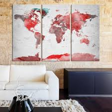 >97600 large wall art push pin world map world map wall art  97600 large wall art push pin world map world map wall art canvas