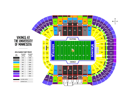 Tcf Bank Stadium Seating Chart Views For Fans Vikings Move To Tcf Bank Stadium Will Have Pros