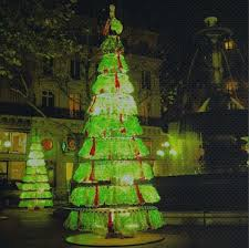 Christmas Decorations Made Out Of Plastic Bottles Recycled Content or Live Christmas Tree Alternatives for the 73