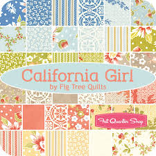 California Girl by Fig Tree Quilts - Layer Cake | fabric lines ... & California Girl Fat Eighth Bundle Fig Tree Quilts for Moda Fabrics - Fat  Quarter Shop Adamdwight.com