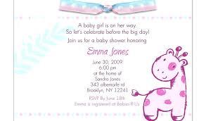 Birthday Card Shower Invitation Wording Baby Shower Invite Wording Ideas Girl Baby Shower Ideas Baby Shower