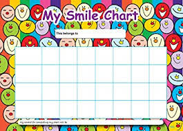 Amazon Com Sticker Solutions A4 Smile Reward Chart With 25