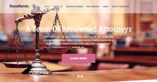 Law Templates 10 Professional Html Templates For Lawyers And Law Firms Web