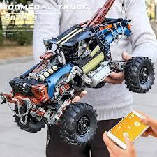 <b>Mould King High</b>-<b>tech</b> APP Remote Control Rebel Tow Truck Set ...
